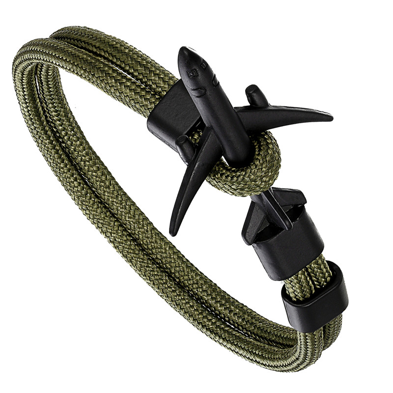 Airplane paracord bracelet