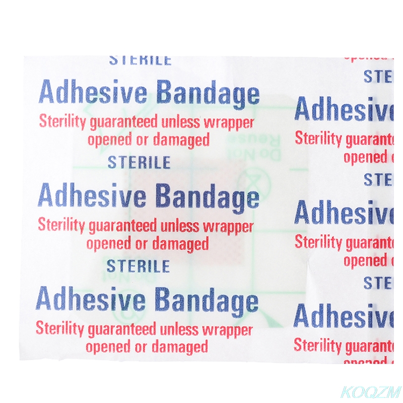 50PCs adhesive bandage Wound Dressing Band aid Bandage Large Wound First Aid Outdoor