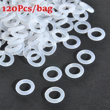 Dampeners Keyboards-Accessories O-Ring Transparent Silica-Gel Environment-Friendly 120pcs/Bag