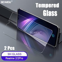 2 PCS Full Tempered Glass For OPPO Realme / Pro Screen Protector 2.5D 9h tempered glass on the 3i 1 Protective Film