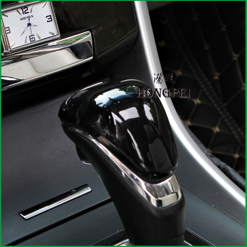 Interior Gear Shift Lever Knob Cover Trim Fit For 2013 2014 2015 <font><b>2016</b></font> 2017 <font><b>Honda</b></font> <font><b>Accord</b></font> 9th 9.5th <font><b>Accessories</b></font> Car Styling image