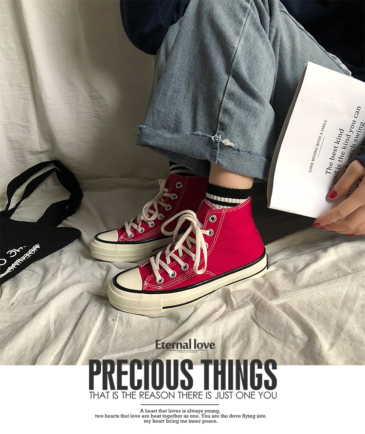 High top Shoes Women 2020 Spring New