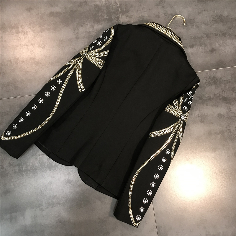 cuello Chaqueta traje con 15