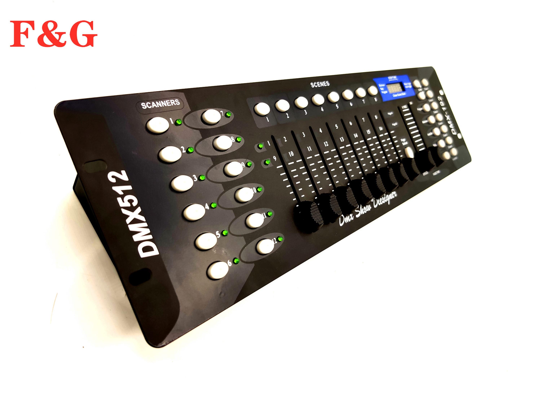 Envío Gratis nuevo controlador DMX 192 de equipo de DJ DMX 512 de iluminación de escenario de consola para focos de cabeza móvil LED P
