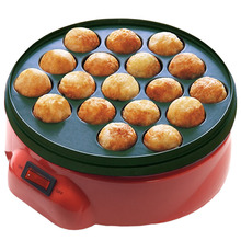 SUCREXU 18 Holes Octopus Ball Baking Machine Takoyaki Maker Chibi Maruko Machine Professional Cooking Tool Household 650W 220v electric fish ball maker commercial octopus ball machine veneer fish ball furnace octopus burning machine ed 81