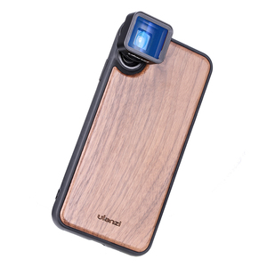 Image 5 - Ulanzi 16MM Wide Angle Lens 10X Macro Lens with Phone Case for iPhone X XS Max Anamorphic Lens Camera Phone Lens CPL Adapter