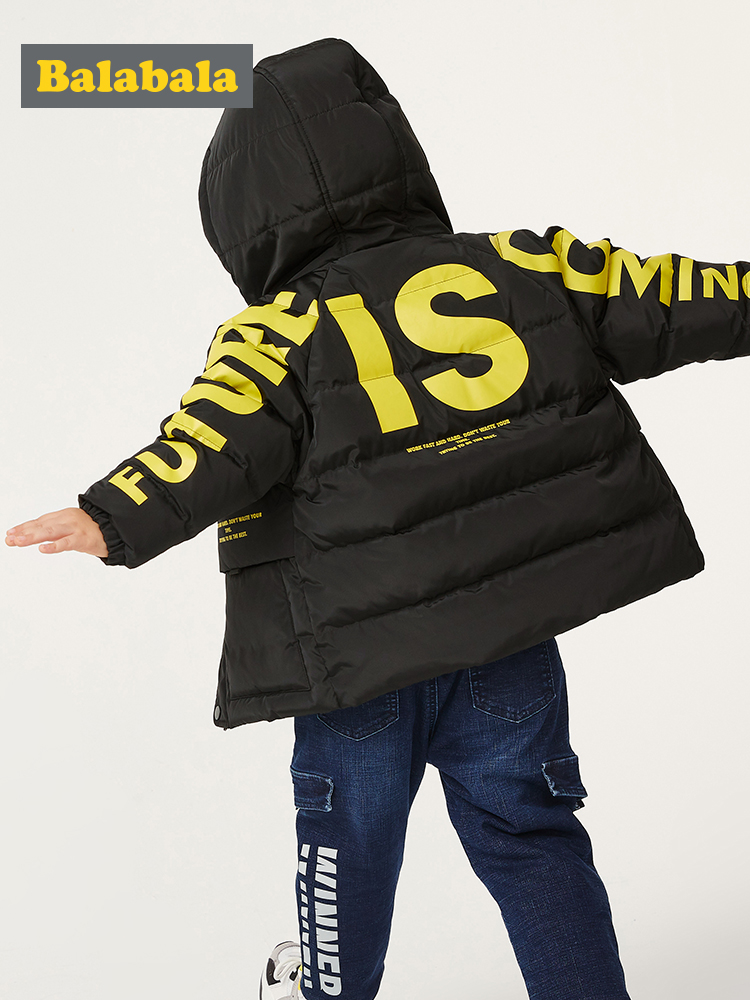 Boys down jacket children's clothing autumn and winter 2019 new baby thick warm coat tide boy windbreak jackets