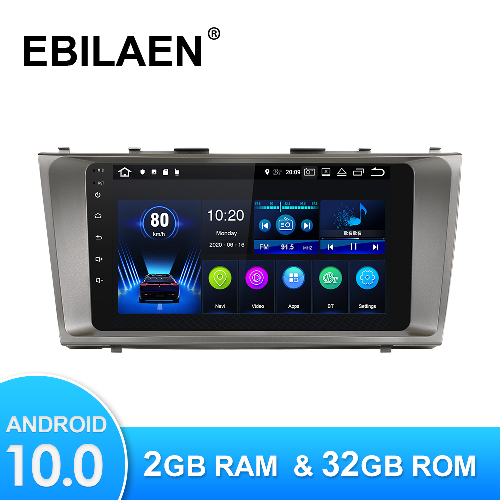 Android 10,0 Auto-Multimedia-Player Für Toyota Camry 40 2006-2011 Autoradio GPS Navigation Kamera WIFI IPS Screen Stereo RDS