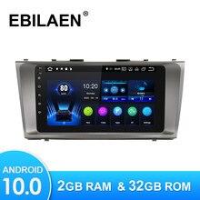 Lecteur multimédia de voiture Android 10.0 pour Toyota Camry 40 2006-2011 Autoradio GPS caméra de Navigation WIFI IPS écran stéréo RDS