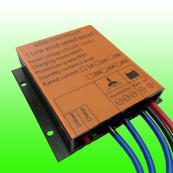 2019 Hot Selling MPPT 10A/16A/20A/30A 12V/24V AUTO Waterproof Wind Turbine Generator Charge Controller Regulator Wind Controller