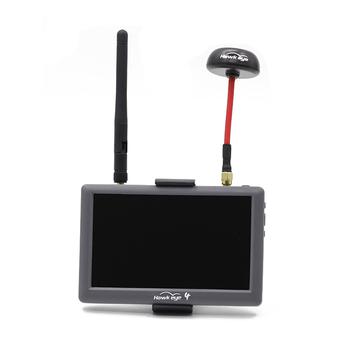 Hawkeye małej pilota 4 podkreślić 5 cal monitor FPV 5 8G 48CH podwójne odbiorniki z DVR wbudowana bateria dla FPV RC Drone tanie i dobre opinie SKYRC Hawkeye Little Pilot 4 220g as show WALKERA(dianzi)