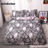 White Tiger Bed Linen Set Single Double Duvet Cover 220x240 Pillocase Bed Set Super King Size Bedding Set 3 Pcs US AU EU Size