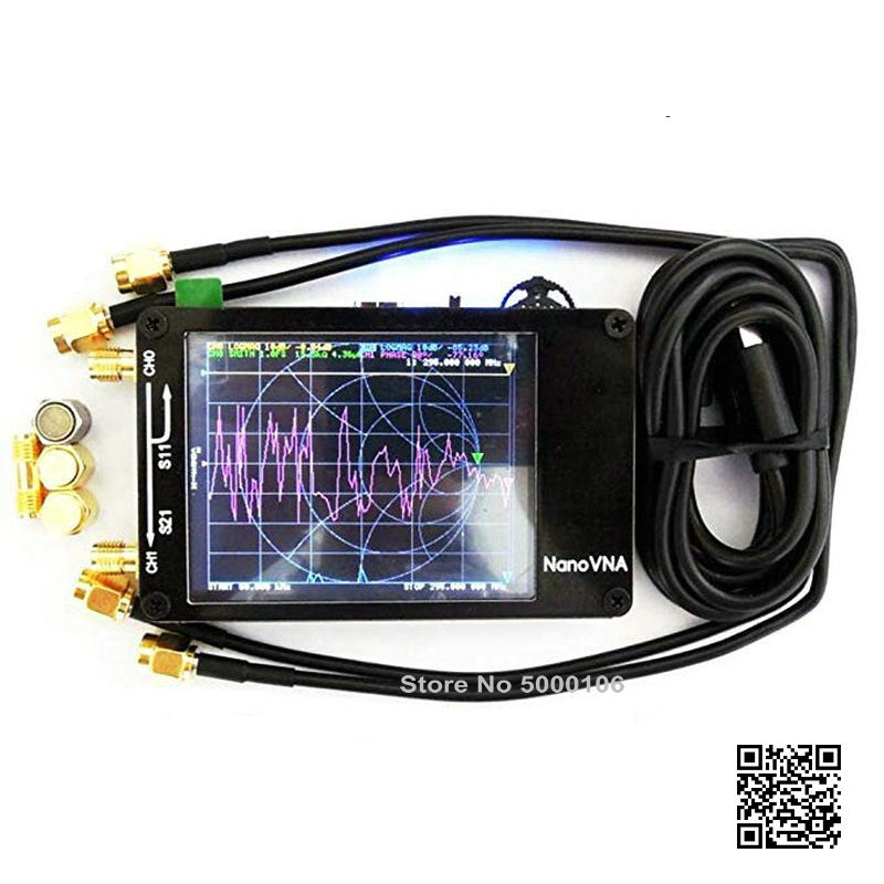 Genuine Original NanoVNA NanoVNA-H Vector Network Antenna Shortwave Analyzer MF HF VHF UHF Genius 2.8