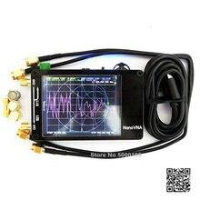 """ของแท้ NanoVNA NanoVNA H เวกเตอร์เครือข่ายเสาอากาศคลื่นเครื่องวิเคราะห์ MF HF VHF UHF Genius 2.8 """"4.3"""" หน้าจอ 50KHz ~ 1.5GHz"""