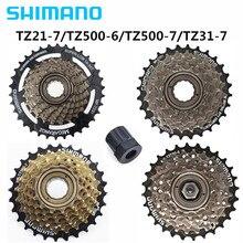 SHIMANO TZ500-6/TZ500-7/TZ21-7/TZ31-7 маховик горный велосипед 6 S/7 S/18 S/21 скорость роторная Летающая башня Колесо может добавить инструменты бренд
