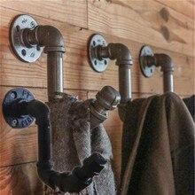 MTTUZK Винтаж промышленный паровой клапан для ухода за волосами для укладки трубы стеновой крюк, декор для стен, вешалка для вешалки Кухня Ванная комната аксессуары