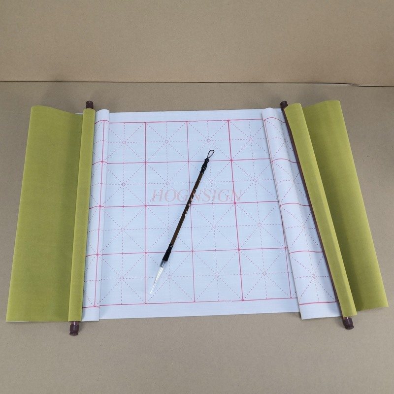 Students present Magic Water Writing Cloth Gridded Notebook Mat Practicing Chinese Calligraphy magic water paper