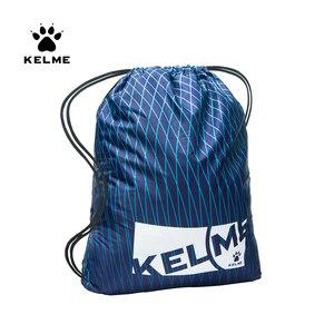 KELME Sports Bag Drawstring Backpack Gym Waterproof String Bag Cinch Waterproof Yoga Bag Colors Sports Storage KMA161005