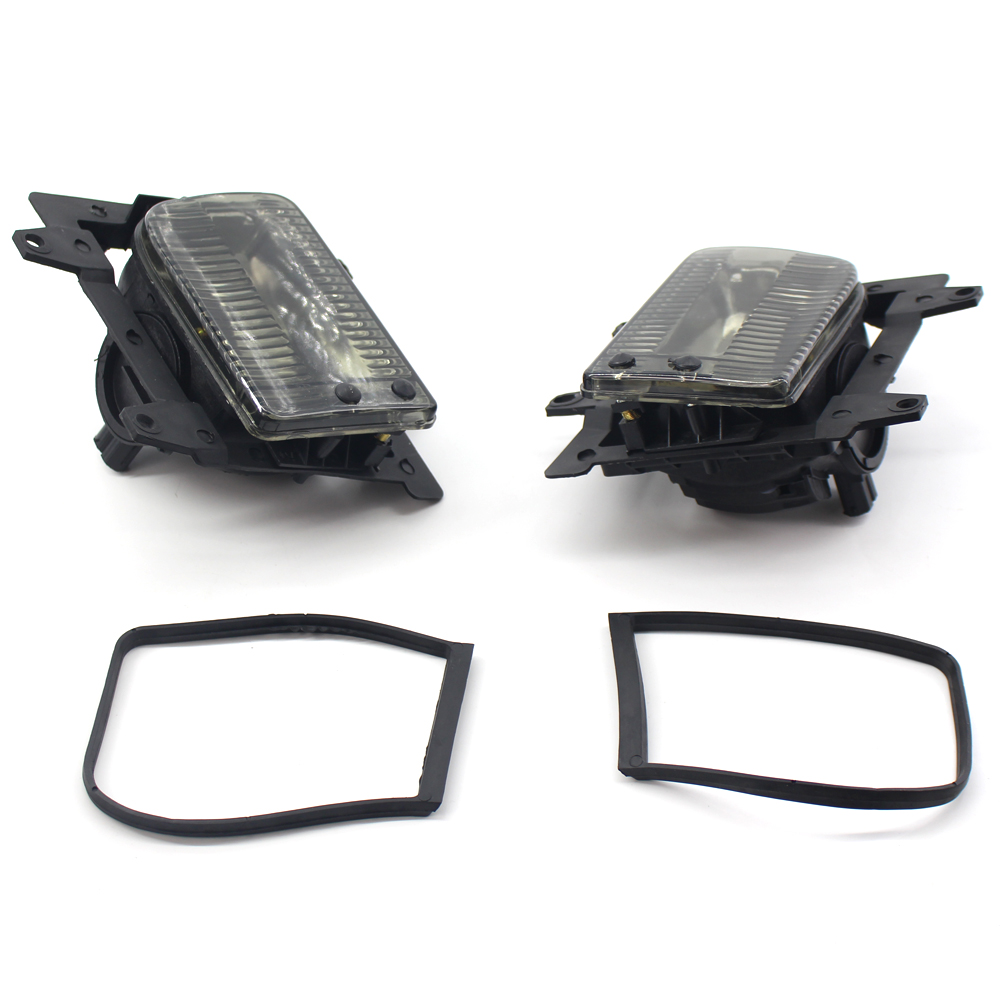 Front Fog Lights Hard plastic Lens Replacement For <font><b>BMW</b></font> <font><b>E30</b></font> 318i 318is 325i 1985-1993 63171385945/63171385946 New image