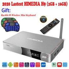 2020 Upgraded HIMEDIA H9 4K 3D UHD Android TV Box 2GB 16GB O