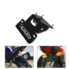 Motorcycle Rear License Plate Mount Holder Fender Eliminator for Yamaha YZF-R3 2015-2019