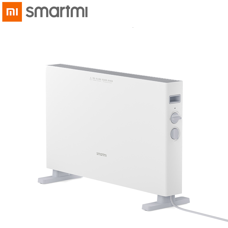 XIAOMI SMARTMI Electric Heater 1S Smart Version Fast Handy Heaters For Home Room Fast Convector Fireplace Fan Wall Warmeheating