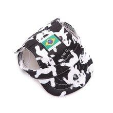 Nieuwe Collectie Pineocus Camouflage Leuke Canvas Baseball cap voor hond Gratis Verzending Honden Hoed puppy