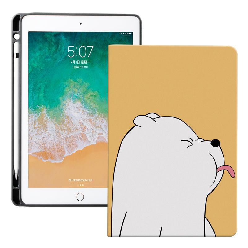Custodie posteriori in Silicone morbido custodia per iPad orso carino per iPad Pro 11 2020 custodia protettiva custodia per iPad 7a generazione Air 1 2