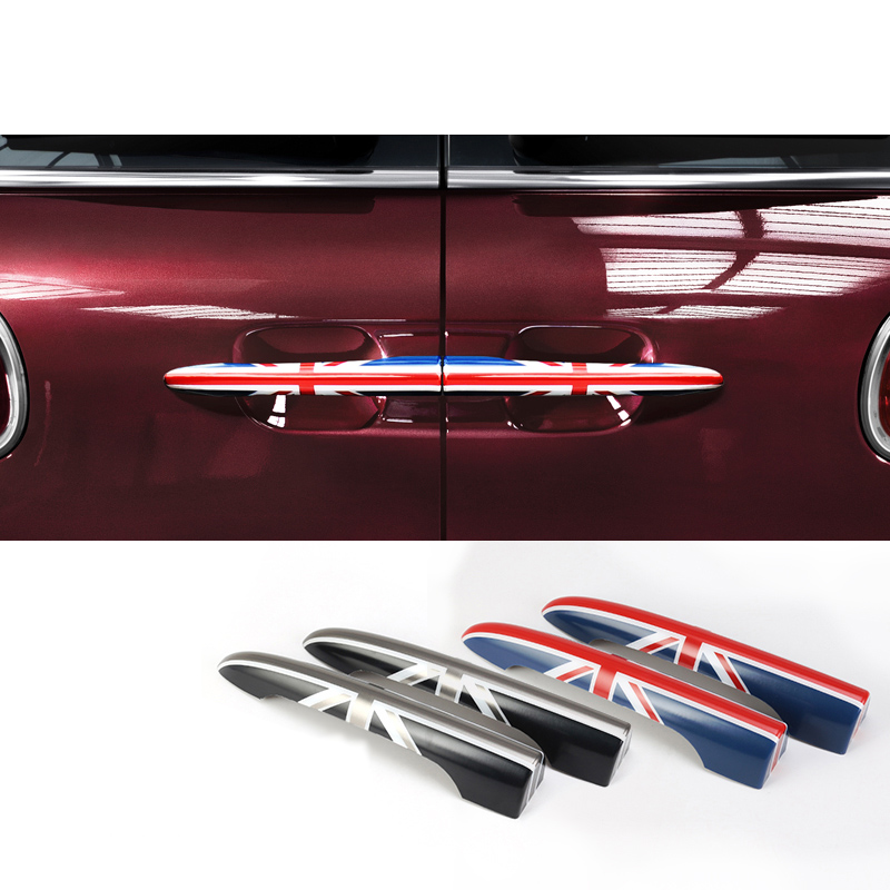 Car Luggage Door Handle Decoration Car Styling Exterior Accessories For BMW MINI ONE COOPER S F54 R55 Clubman Trunk Sticker
