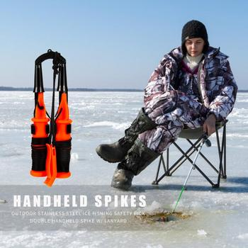 Amazing No.1 Stainless Steel Ice Fishing Safety Pick Fishing Rods Position: Ocean Beach Fishing