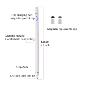 Image 4 - Universal Touch Pen For samsung galaxy note 10 plus 9 8 Smart Capacitance pen For iPhone iPad Tablet Multi function Touch screen