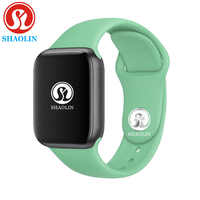 Recordatorio de llamada reloj inteligente 42mm hombres mujeres reloj inteligente Serie 4 para apple Watch iPhone Android Samsung reloj inteligente ruso