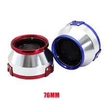 3 дюйма/76 мм Универсальный Автомобильный спорт воздушный фильтр