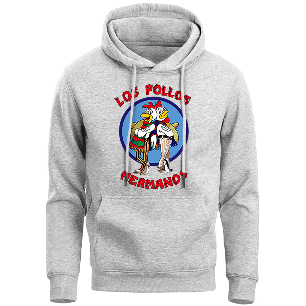 Breaking Bad Los Pollos Hermanos Hoodies Sweatshirts Men Tv Show Chicken Brothers Brand Sweatshirt 2019 New Spring Autumn Hooded
