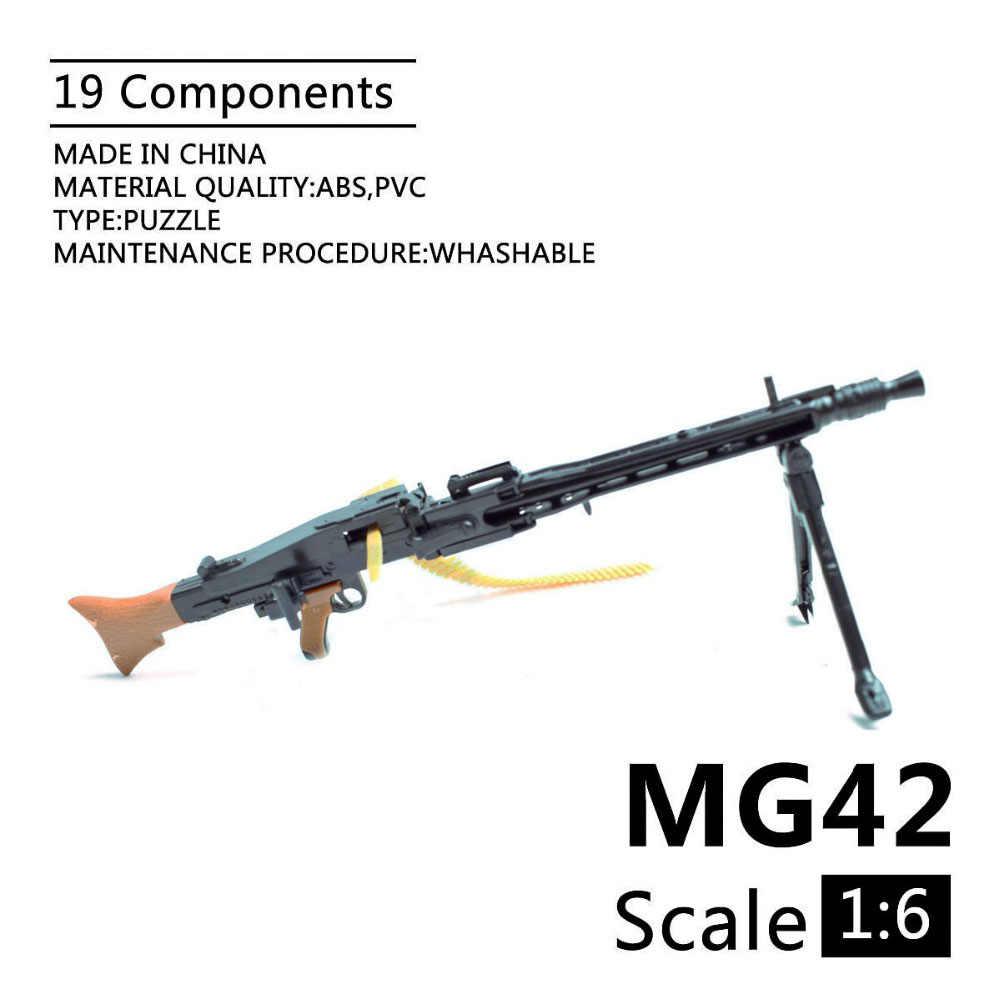 1//6 Maxim-Maschinengewehr MG08 Machine Gun Assemble Model Gun Toy Model-Kit