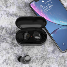 купить TWS Bluetooth Earphone Wireless Headphones 6D Stereo Wireless Earphones Mini Earbuds with Mic Sport Ear Buds Headset V5.0 дешево