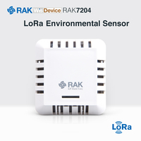 RAK7204 is a LoRaWAN node.It can measure changes in temperature, humidity,gas pressure and provide an indoor air quality index