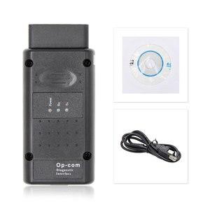 Image 5 - OPCOM V5 For Opel OP COM 1.70 flash firmware update OP COM 1.95 PIC18F458 FTDI CAN BUS OBD OBD2 Scanner Car Diagnostic Auto Tool