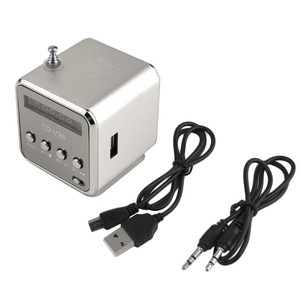 Image 2 - Ingelon แบบพกพา Mini วิทยุ FM ลำโพง LCD สเตอริโอ MP3 เครื่องเล่นเพลง Micro SD/TF/USB 8GB การ์ด Dropshipping