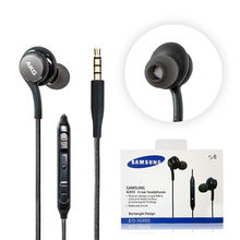 10 Pcs/lot EO IG955 Earphone S8 S9 Earphone Microphone 3.5mm In Ear Stereo Earphone with retail Package For Galaxy S8 S9/S8 plus