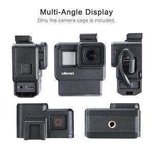 Image 4 - Ulanzi V2 プロスポーツカメラケージvlogケース保護ケージマイクビデオライト 52 ミリメートルフィルターマイクアダプタ移動プロヒーロー 7 6 5