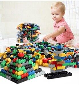 Image 3 - مجموعة مكعبات بناء كلاسيكية من eويلبيعت عدد 500/1000 قطعة من ألعاب التركيب الفني للمدينة