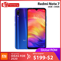Global Rom Xiaomi Redmi Note 7 6GB 64GB 6.3'' Water Drop FHD Screen 48MP Cameras Snapdragon 660 Octa Core Mobile Phone QC 4.0