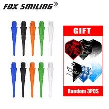 Fox Smiling 100/50 штук/упаковка с фокусным расстоянием 25 мм 2BA профессиональные нейлоновые мягкие дартс и электронные очки Аксессуары для ванной комнаты с 3 шт. Перелёты