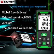 Лазер SNDWAY дальномер цифровой дальномер лазерная рулетка измерительные инструменты рулетка угловая линейка