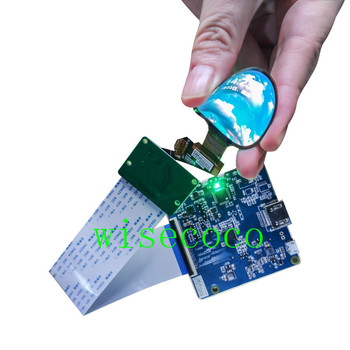 1.39 Inch flexible oled display 400(RGB)*400 round amoled screen MIPI HDMI controller board