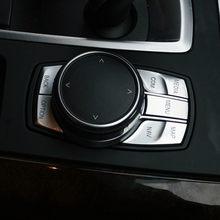 Автомобильные мультимедийные пуговицы, декоративная рамка для BMW F25 F26 F06 F07 G38 F15 F16 F10 F30 6/7 series F20 F34 F36 F21 F48