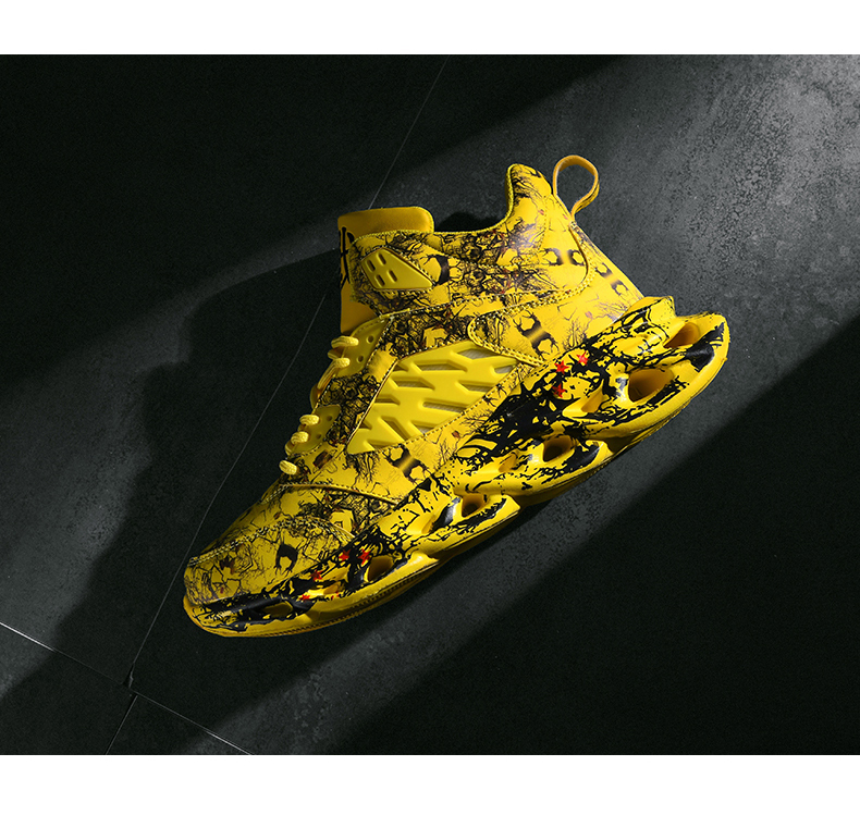 H254edfe8bb8e4123aaf17b4f0264d7430 Fashion Men's Hip Hop Street Dance Shoes Graffiti High Top Chunky Sneakers Autumn Summer Casual Mesh Shoes Boys Zapatos Hombre