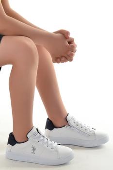 U s Polo Assn felino codzienny dziewczynka chłopięce obuwie sportowe tanie i dobre opinie Chłopcy BUTY TURYSTYCZNE