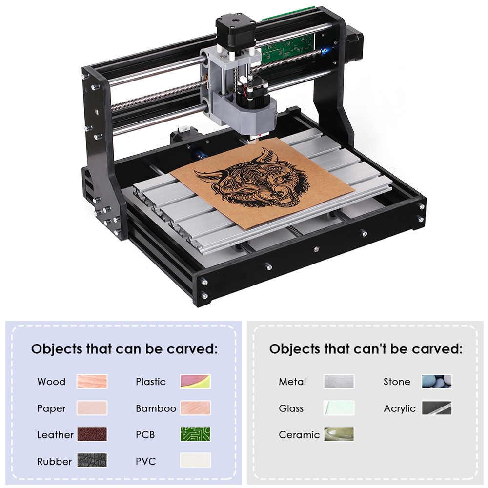 CNC3018 DIY CNC Router Kit 2-in-1 Mini Laser Gravur Maschine GRBL Control 3 Achsen Holz Carving fräsen Gravur Maschine